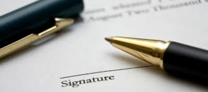 Executing a Deed Poll